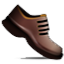 Laced Guys Shoes Smiley Face, Emoticon