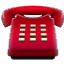 Typical Red Telephone Smiley