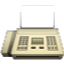Typical White Telephone Smiley Face, Emoticon