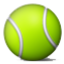 Green Tennis Ball Smiley