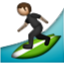 Guy Surfing Around Smiley