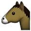 Donkey Looking Left  Smiley Face, Emoticon