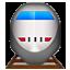 Speedy Jet Train  Smiley Face, Emoticon