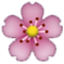 Pink And Yellow Flower Smiley Face, Emoticon