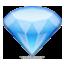 Lovely Shiny Diamond Smiley