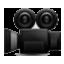 Old Shool Video Camera Smiley Face, Emoticon
