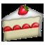Strawberry Cake Slice Smiley