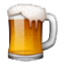 Mug Overflowing With Beer Smiley Face, Emoticon