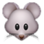 Mouse With Big Ears Smiley Face, Emoticon