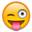 Silly Looking Smiley Smiley Face, Emoticon