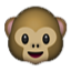 Smiling Baby Monkey Smiley Face, Emoticon