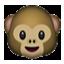 Smiling Baby Monkey Smiley Face, Emoticon