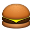 Yummy Cheese Burger Smiley Face, Emoticon