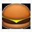 Yummy Cheese Burger Smiley