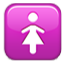 Hers Symbol Pink Box Smiley