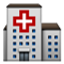 Bright Red Cross Smiley Face, Emoticon