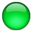 Bright Green Circle Smiley Face, Emoticon
