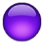 Bright Purple Circle Smiley Face, Emoticon