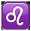 Leo Zodiac Sign Smiley Face, Emoticon