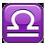 Libra Zodiac Sign Smiley Face, Emoticon