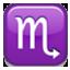Scorpio Zodiac Sign Smiley Face, Emoticon
