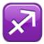 Sagittarius Zodiac Sign Smiley Face, Emoticon