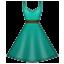 Blue Sunday Dress Smiley Face, Emoticon