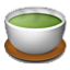 Green Tea Cup Smiley Face, Emoticon