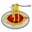Spaghetti In Red Sauce Smiley Face, Emoticon