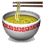 A Bowl Of Noodles Smiley Face, Emoticon