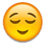 Smiling Peacefully Sleeping  Smiley Face, Emoticon