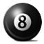 8 Billiard Ball Smiley