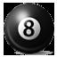 8 Billiard Ball Smiley Face, Emoticon