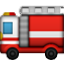Red Fire Truck Smiley Face, Emoticon
