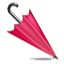 Pink Umbrella For Girls Smiley