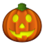 Halloween Pumpkin Lantern Smiley Face, Emoticon