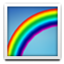 Lovely Colorful Rainbow Smiley