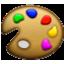Primary Colors Palet Smiley Face, Emoticon