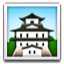 Japanese Style Building Smiley Face, Emoticon
