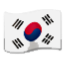 South Korea Flag Smiley Face, Emoticon