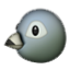 Round Face Bird Smiley Face, Emoticon