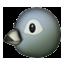 Round Face Bird Smiley Face, Emoticon